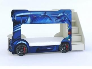 Двухъярусная кровать  Автобус - Мебельная фабрика «ViVera»