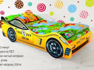 Кровать-машинка Такси - Мебельная фабрика «Бельмарко»