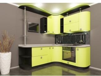 Матовая кухня Муза - Мебельная фабрика «Славичи», г. Ульяновск