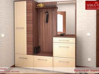 Прихожая Квадро вариант 1 - Мебельная фабрика «Элна»
