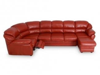 Кожаный диван Берг - Мебельная фабрика «Добрый стиль»
