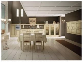 Классический кухонный гарнитур SIEPI DECAPE - Мебельная фабрика «ЕВРОПЛАК»