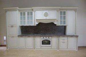 Прямая кухня Валенсия - Мебельная фабрика «Буденновская мебельная компания»