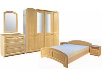 Спальный гарнитур Эмили 1 - Мебельная фабрика «Пинскдрев»