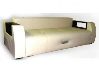 Белый прямой диван Лагуна  - Мебельная фабрика «Вега»