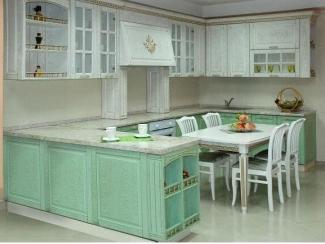 Большой кухонный гарнитур Полина  - Мебельная фабрика «Виктория», г. Ульяновск