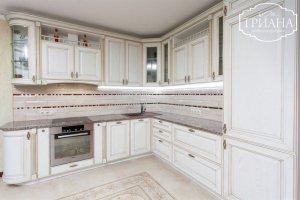 Угловая кухня ваниль Коринф - Мебельная фабрика «Триана»