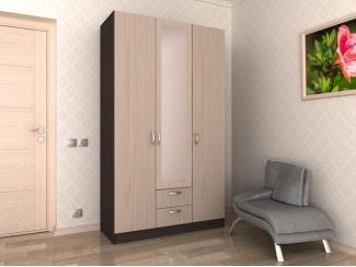 Распашной шкаф 3 створки 2 - Мебельная фабрика «Гермес»