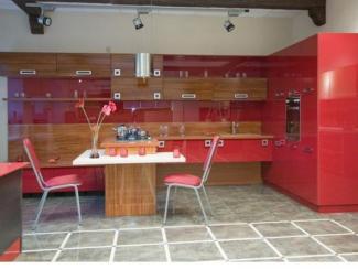 Кухня Haitek пластик + пленка  - Мебельная фабрика «Кузьминки-мебель»