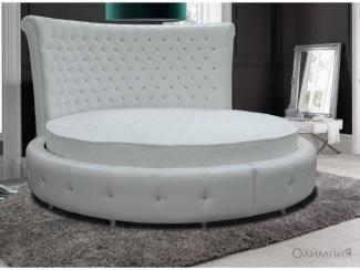Круглая кровать Олимпия - Мебельная фабрика «ARISTA»