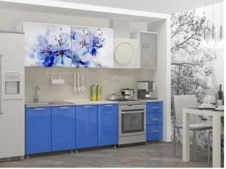 Кухня ЛДСП с фотопечатью Лара - Мебельная фабрика «Альбина»