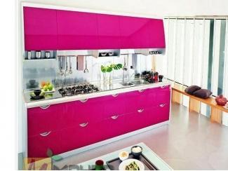 Прямая кухня Пинк - Мебельная фабрика «Манго»