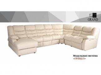 Диван угловой Гранд 5 - Мебельная фабрика «Ивушка» г. Усолье-Сибирское