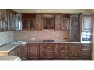 Кухонный гарнитур с угловой раковиной Палермо  - Мебельная фабрика «Вектра-мебель»