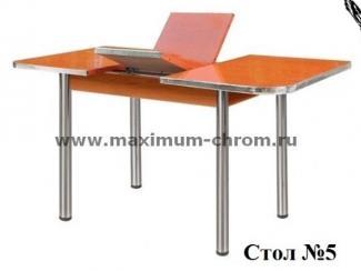 Стол обеденный 5 - Мебельная фабрика «Максимум-хром»