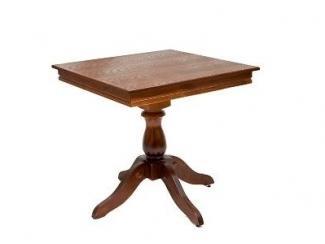 Стол Престиж квадратный из массива сосны - Мебельная фабрика «ARTWOOD»
