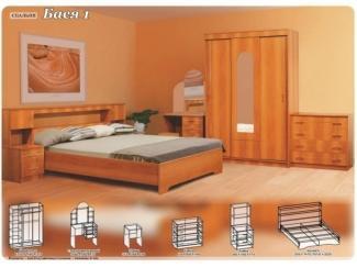 Спальный гарнитур Бася 1 - Мебельная фабрика «Поволжье»