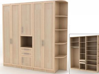 Шкаф Альфа В-7 - Мебельная фабрика «Командор»