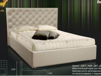 Светлая кровать Валенсия
