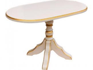 Стол Атлант 1 (слон. кость,патина) - Мебельная фабрика «Багсан»