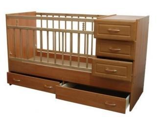 Детская кровать с ящиками  - Мебельная фабрика «Перспектива»