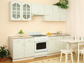 Кухонный гарнитур прямой Виктория Мрамор - Мебельная фабрика «Мебель плюс»