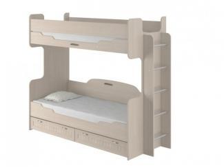 Кровать 2-х ярусная 800 Соната - Мебельная фабрика «Интеди»
