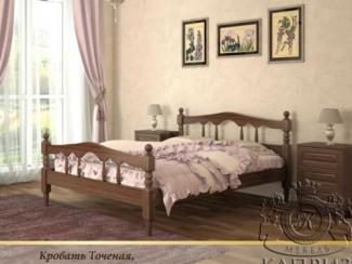 Кровать Точеная №1 - Мебельная фабрика «Каприз»