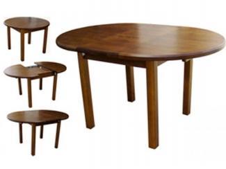 Стол круглый раздвижной  - Мебельная фабрика «Симкор»