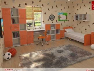 Детская Индиго вариант 1 - Мебельная фабрика «Элна»