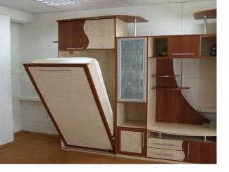 Стенка с откидной-подъемной кроватью - Мебельная фабрика «Мастер Мебель»