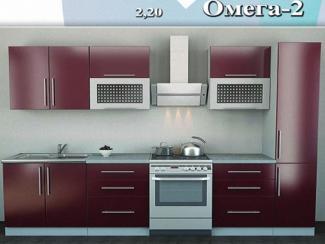 кухня прямая «Омега 2» - Мебельная фабрика «Регина»