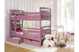 Двухъярусная кровать Рина - Мебельная фабрика «Верба-Мебель»