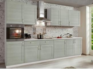 Серая кухня Николь в стиле минимализм - Мебельная фабрика «SL-Мебель»