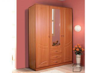 Шкаф «Александра-4» 3-х дверный с ящиками - Мебельная фабрика «Меон»