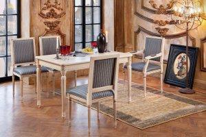 Стол Цезарь-ПР, стулья и кресла Рим - Мебельная фабрика «Нео Кухни»