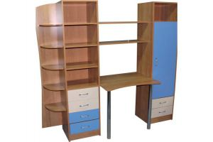 Детская стенка Саша-2 - Мебельная фабрика «Мебельный Арсенал»