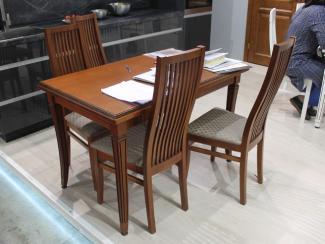 Мебельная выставка Москва: стол, стулья - Мебельная фабрика «ЗОВ»