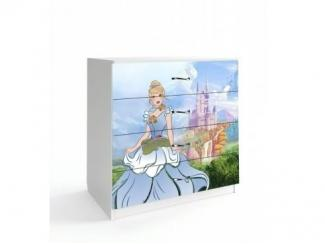 Комод в детскую Принцессы 1 - Мебельная фабрика «Астера»