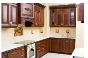 Кухня из массива дерева 05 - Мебельная фабрика «МеТра» г. Москва