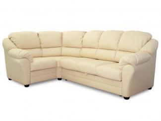 угловой кожаный диван Бруно - Мебельная фабрика «Ладья»