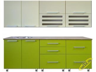 Кухня прямая 81 - Мебельная фабрика «Трио мебель»