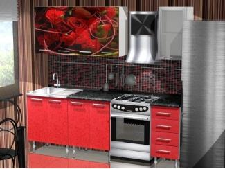 Красный кухонный гарнитур Ассорти
