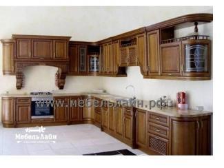 Угловая классическая кухня - Мебельная фабрика «МебельЛайн»