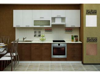 Кухня «Лилии платиновые-медные» - Мебельная фабрика «ПО СМГ»