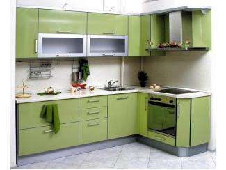 Зеленая кухня Элегант  - Мебельная фабрика «Статус»