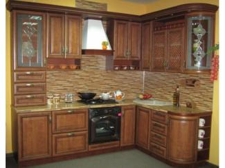 кухня угловая Контур Турин 3 (груша)