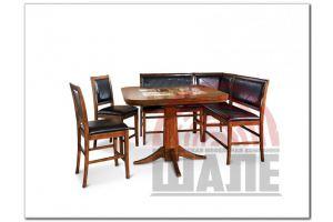 Кухонный уголок со столом и стульями СТЭНЛИ - Мебельная фабрика «ВМК-Шале»
