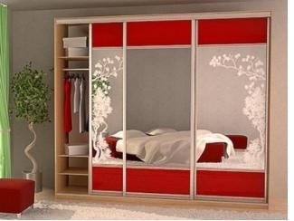 Шкаф-купе с зеркалами  - Мебельная фабрика «Интерьер»