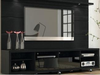 Настенная панель с тумбой Карбини - Мебельная фабрика «Новый стиль»